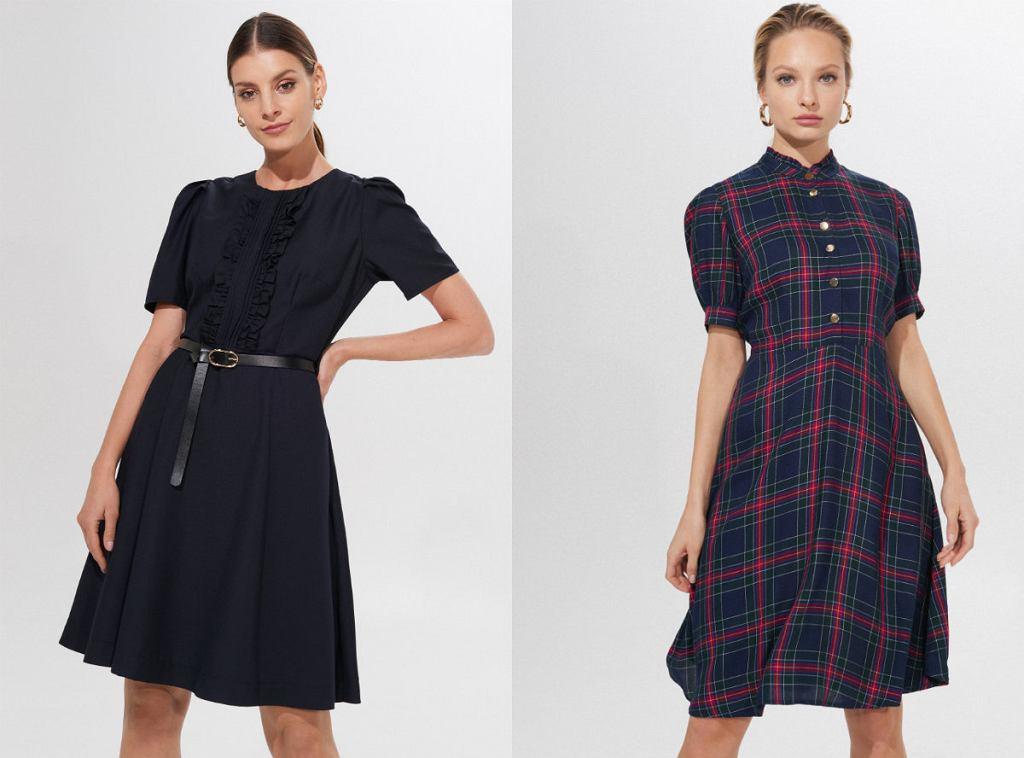 Eleganckie sukienki do pracy