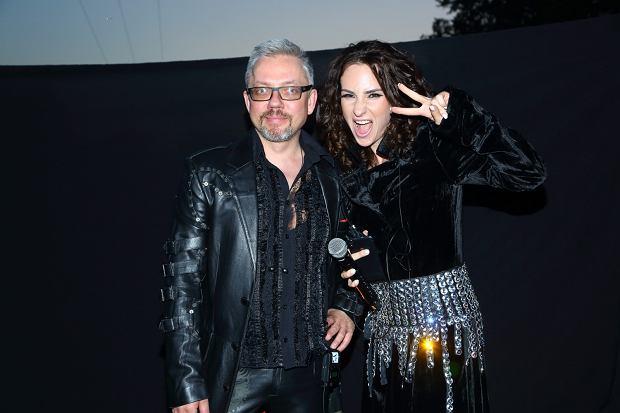 Jacek Łągwa i Marta Milan