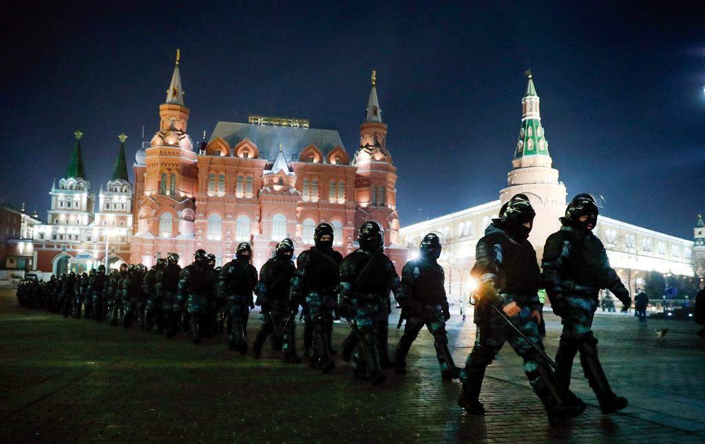Siły policyjne w Moskwie
