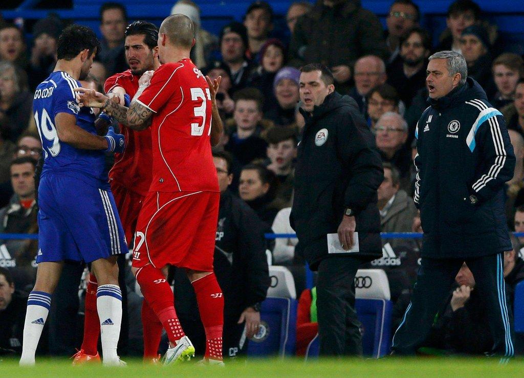 Diego Costa, Emre Can i Jose Mourinho