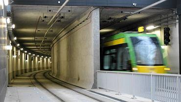 Tunel tramwajowy w Poznaniu