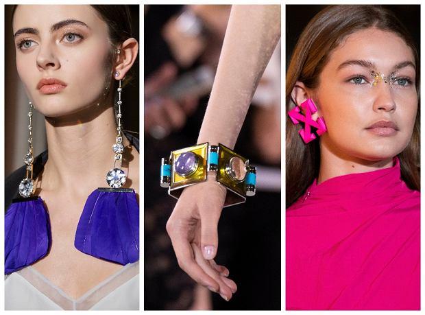 Biżuteria w intensywnych kolorach
