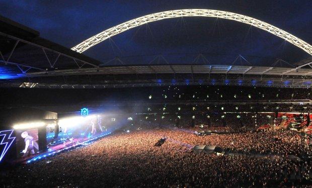 Wembley, The Killers