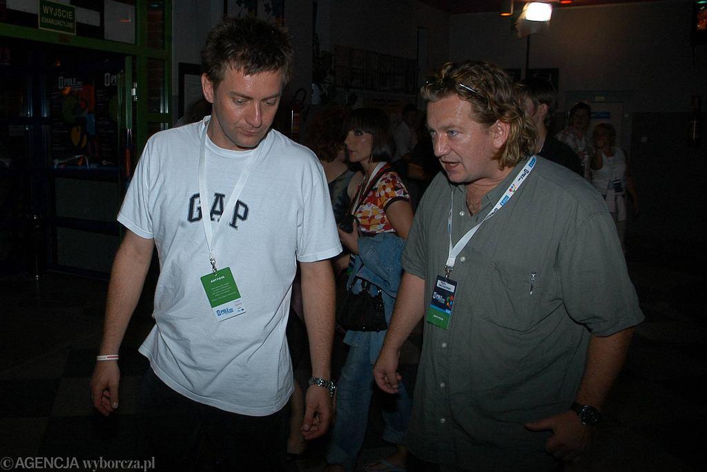 Paweł Królikowski z bratem Rafałem