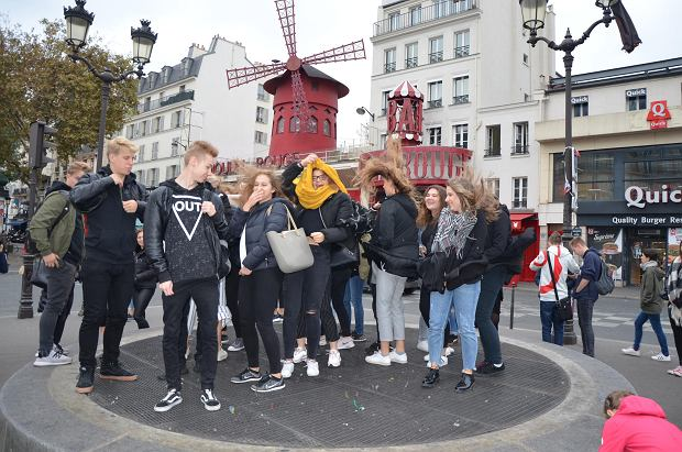 Wizyta uczniów 'Kopernika' we Francji