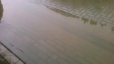 Do domu Radosława Wąsika regularnie wdziera się woda. Deweloper nie poczuwa się do winy
