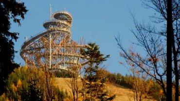 Ścieżka w obłokach to nowa atrakcja w ośrodku Dolni Morava