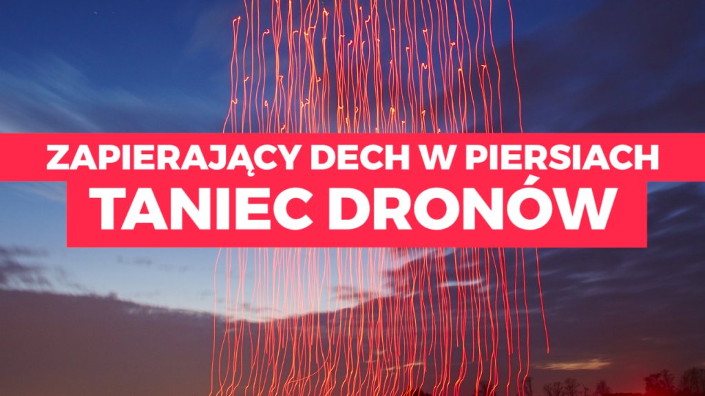 Taniec dronów Intela pobił rekord Guinessa