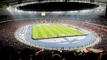 Stadion Śląski podczas meczu Polska - Korea Południowa, marzec 2018