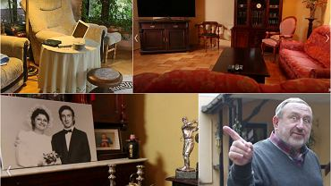 Tadeusz Drozda należy do najbardziej znanych satyryków polskich. Kiedy pokazywał swój dom Omenie Mensah, zrobił to oczywiście w sposób nietuzinkowy. Nas najbardziej zachwycił monumentalny obraz, jaki gospodarz powiesił sobie na ścianie. Oczywiście, obraz przedstawiał gospodarza. Ale za to w jakiej pozie!