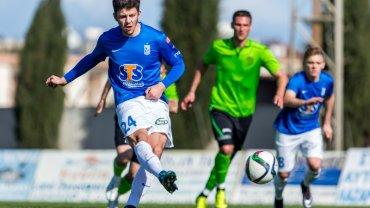 Lech Poznań - FK Ufa 1:1 podczas sparingu na Cyprze. Dawid Kownacki