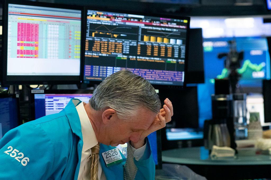 Giełda na Wall Street w Nowym Jorku