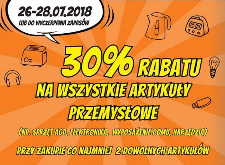Biedronka gazetka 26.07-1.08 2018 rok
