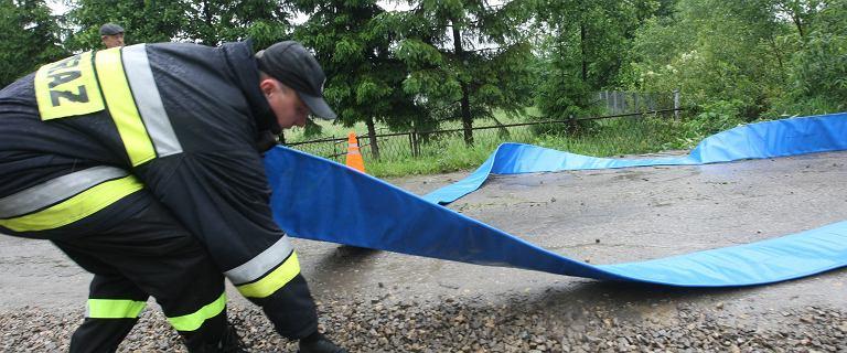Alarm powodziowy w Małopolsce. Ewakuacja w Dąbrowie Tarnowskiej i Swarzowie
