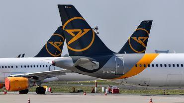 Samoloty linii lotniczych Condor.
