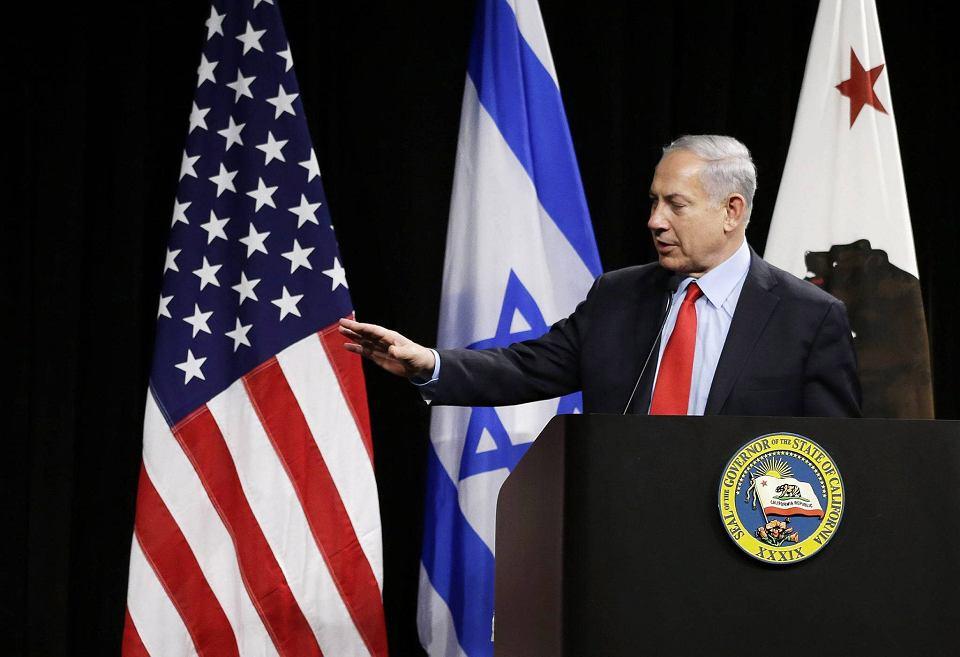 Premier Izraela Beniamin Netanjahu podczas wizyty w Muzeum Historii Komputerów w Mountain View w Kalifornii, marzec 2014 r. Jutro Netanjahu stanie na mównicy amerykańskiego Kongresu