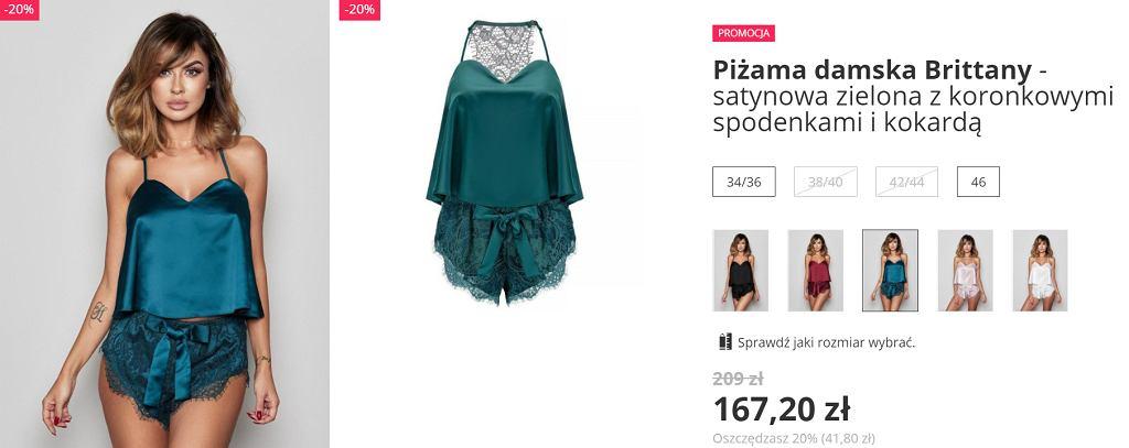 piżama 'Bohomoss'