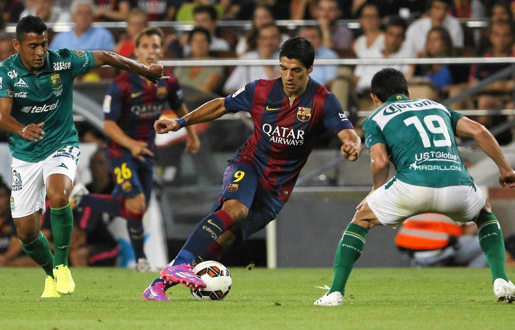 Luis Suarez w Barcelonie