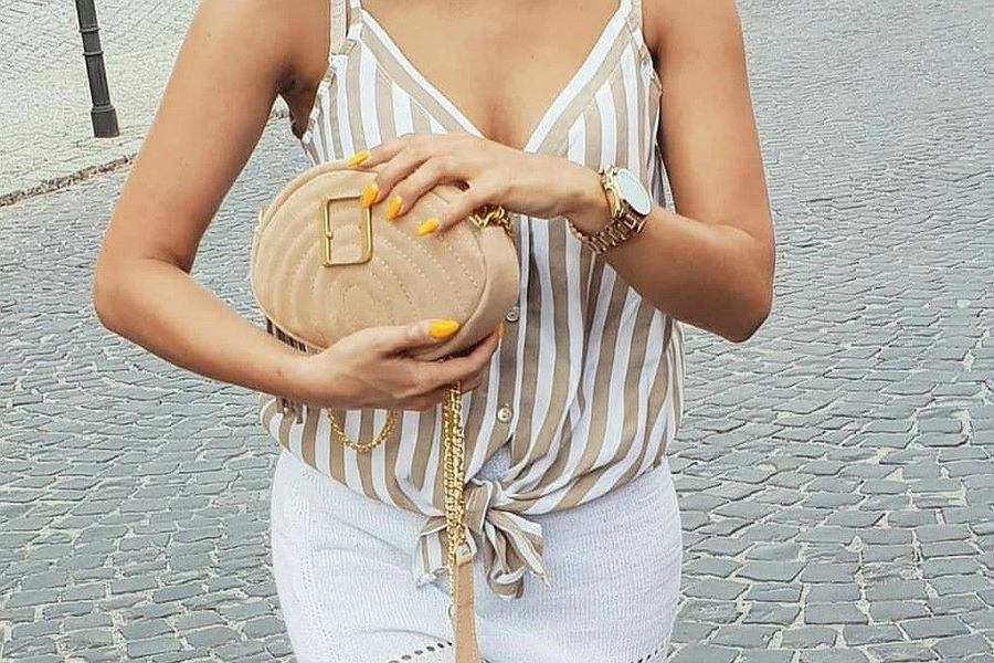 beżowa torebka Fabiola
