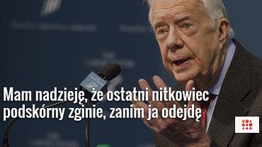 Były prezydent USA Jimmy Carter