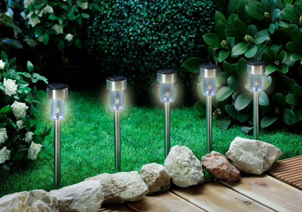 leroy merlin stojące retro lampy ogrodowe kula