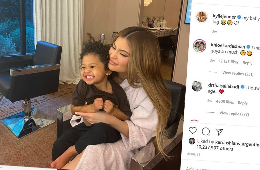 Instagram, Kylie Jenner