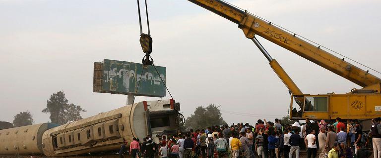 Ponad 90 osób rannych i ofiary śmiertelne. Katastrofa kolejowa w Egipcie