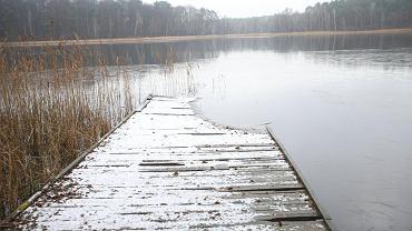 Jezioro w Łasku