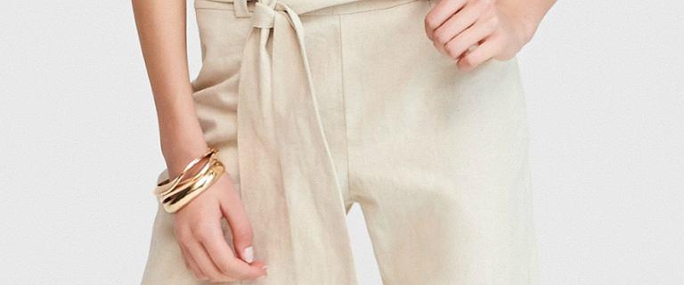 Spodnie na lato z Reserved. Modele z delikatnych i przewiewnych materiałów