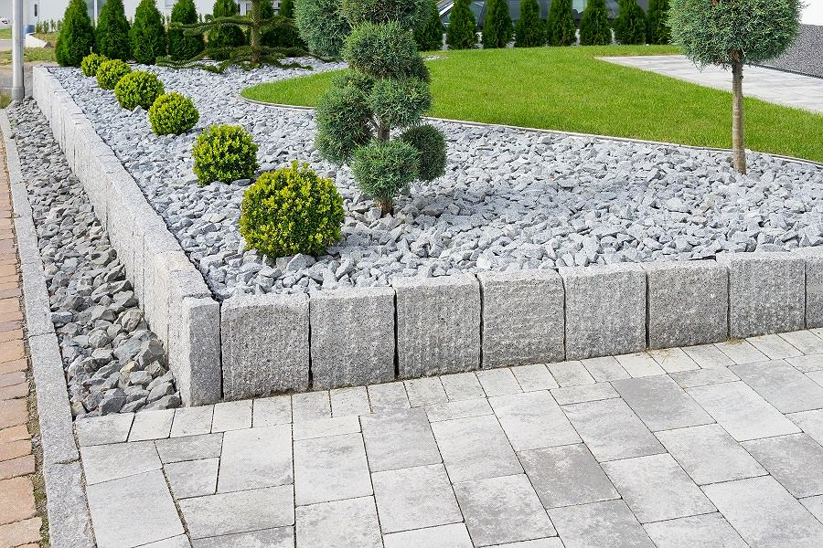 Nowoczesny ogród aranżacja