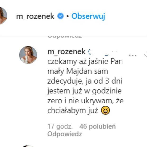 Małgorzata Rozenek oczekuje narodzin syna
