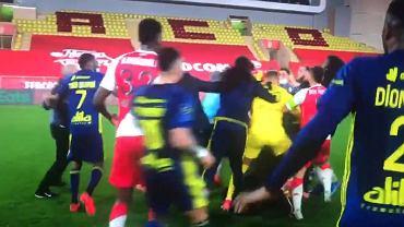 Awantura po meczu Lyon - Monaco