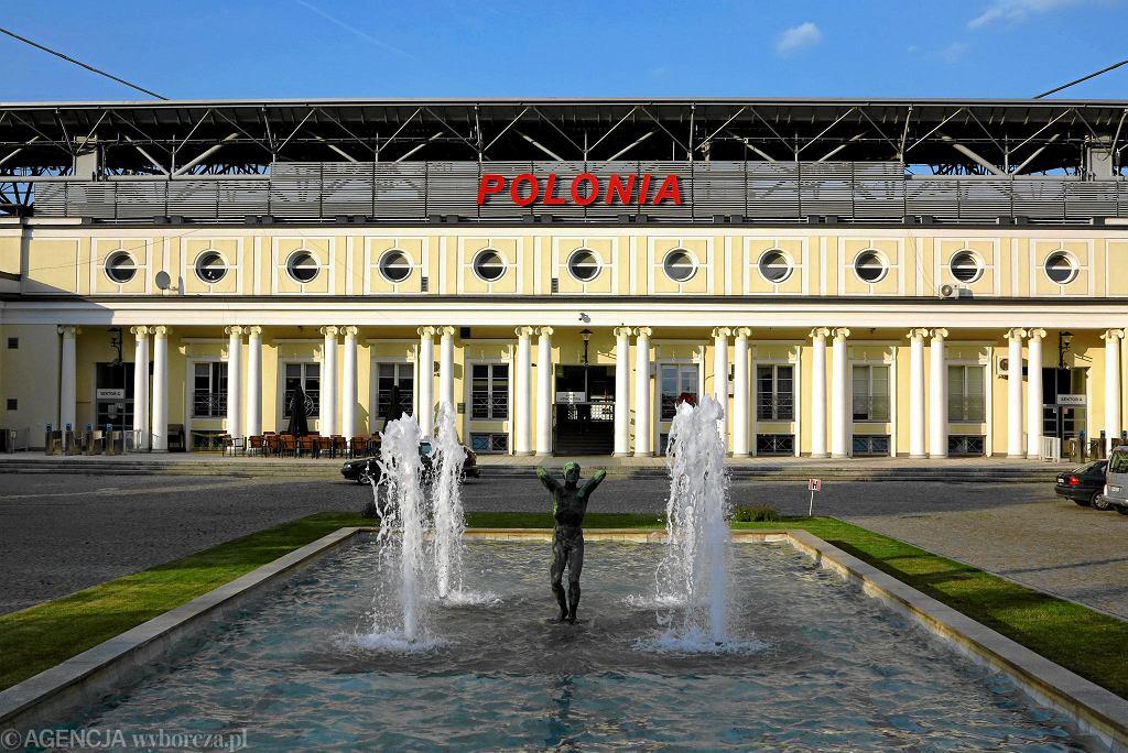 Fasada stadionu Polonii Warszawa