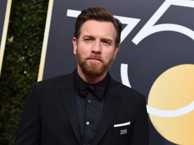 Ewan McGregor - Złote Globy 2018. Beverly Hills, 7 stycznia 2017