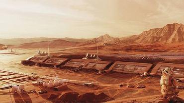 'Twardowsky' to projekt kolonii zlokalizowanej w miejscu lądowania misji NASA Mars 2020, w Kraterze Jezero