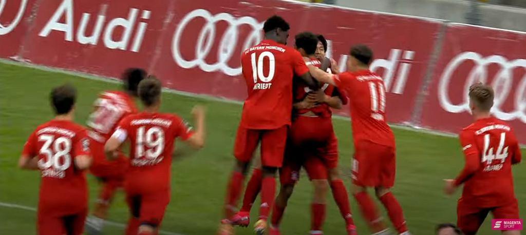 Jamal Musiala już strzela dla Bayernu