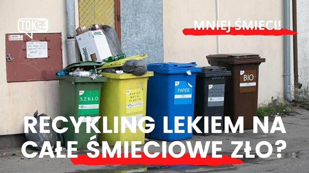 Mniej śmieci