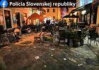 Kibole Cracovii zdemolowali Bratysławę. Ponad 100 zatrzymanych [WIDEO]