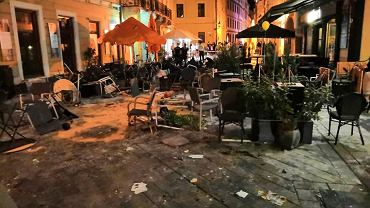 Kibole Cracovii wywołali burdy w centrum Bratysławy