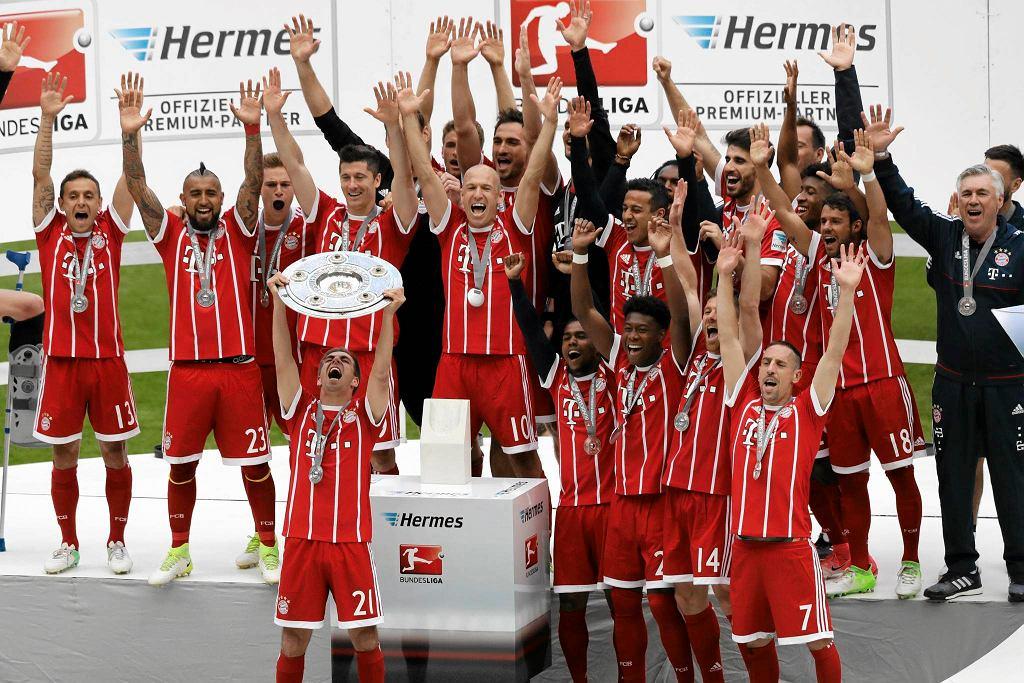Bayern Monachium świętuje mistrzostwo Niemiec