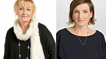 Dziennikarki 'Gazety Wyborczej - Stołecznej'. Od lewej Iwona Szpala, Małgorzata Zubik