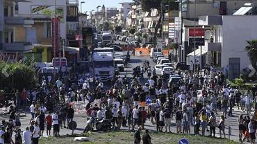 Zamieszki w Mondragone