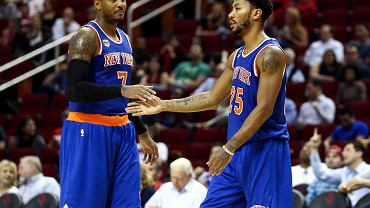 Derrick Rose w barwach New York Knicks