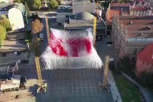 Niezwykła instalacja na Targu Węglowym