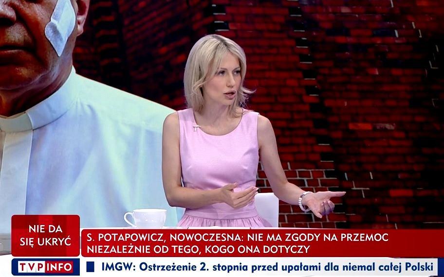 Magdalena Ogórek w programie 'O co chodzi?', 29.07.2019