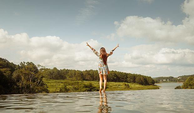 Twoje samopoczucie w dużej mierze zależy od Twojego nastawienia do życia,