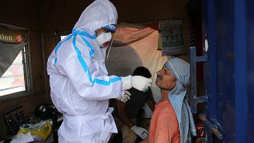 Epidemia koronawirusa w Indiach