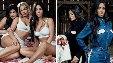 Siostry Kardashian w reklamie: Calvinklein.pl/mycalvins