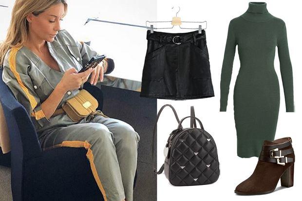 ubrania w stylu militarnym/mat.partnera/www.instagram.com/m_rozenek/