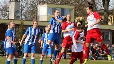 Mecz piłki nożnej kobiet: Polonia Poznań - Błękitni Stargard Szczeciński 6:1